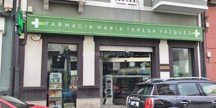 Resultado de imagen de Farmacia Mª. Teresa Vázquez Vilariño